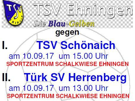Erneuter Heimspiel-Dreierpack am Sonntag (10. September)