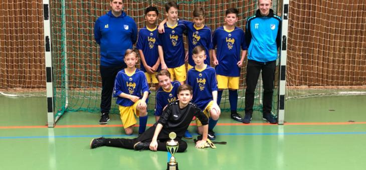 2. Platz der D2 beim U13-Turnier in Aidlingen