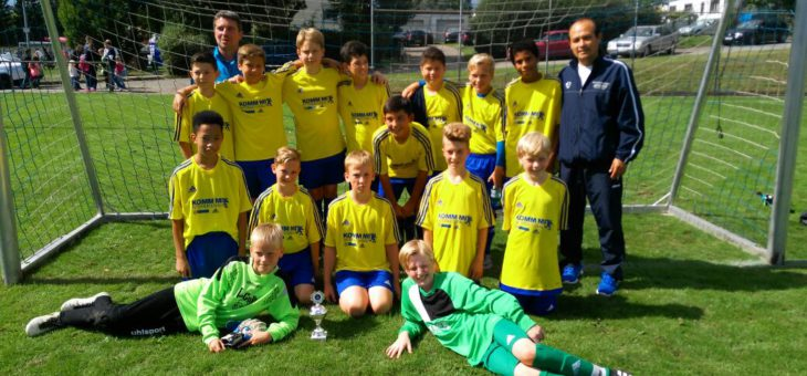 D1-Junioren mit 2. Platz beim Turnier in Mötzingen