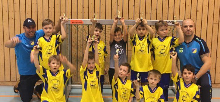 Bambinis mit zwei Teams in Gechingen vertreten
