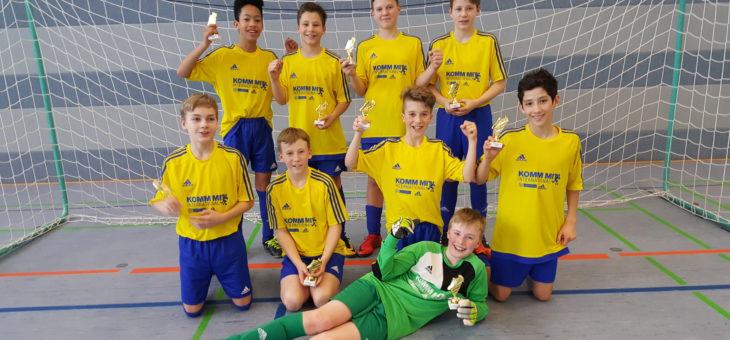 Erneuter Turniersieg der D1-Junioren