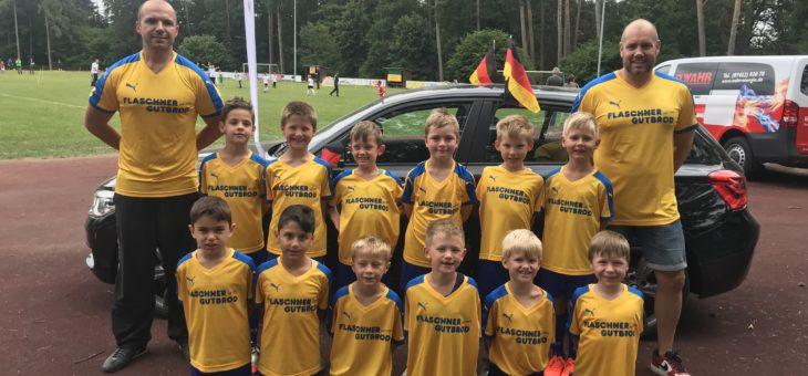Bambinis mit 3 Teams beim Libella Cup in Hochdorf