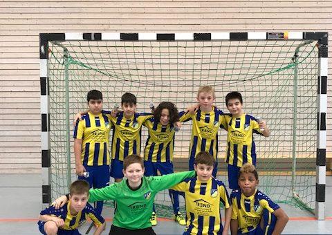 E1 Junioren – Super 2. Platz beim Abschluss der Hallenfinalrunde Böblingen/Calw JuniorCup
