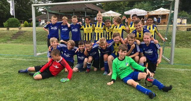 Saisonabschluss E1 Junioren in Westerstetten