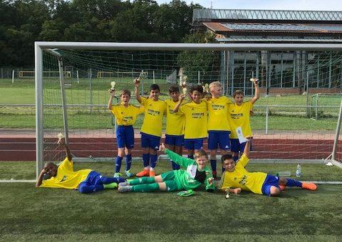 Turniersieg E1 Junioren in Gechingen