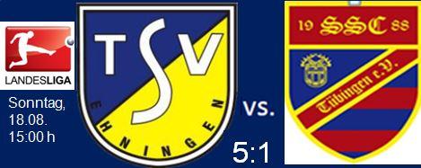 Bilder vom Spiel gegen den SSC Tübingen
