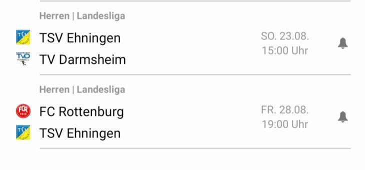 Der Saisonstart der Landesligamannschaft