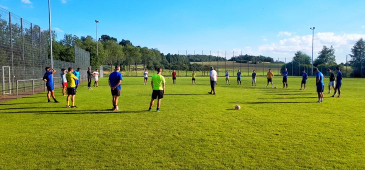 Trainingsauftakt Zweite Mannschaft