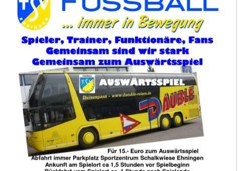 Busfahrt nach Wittendorf