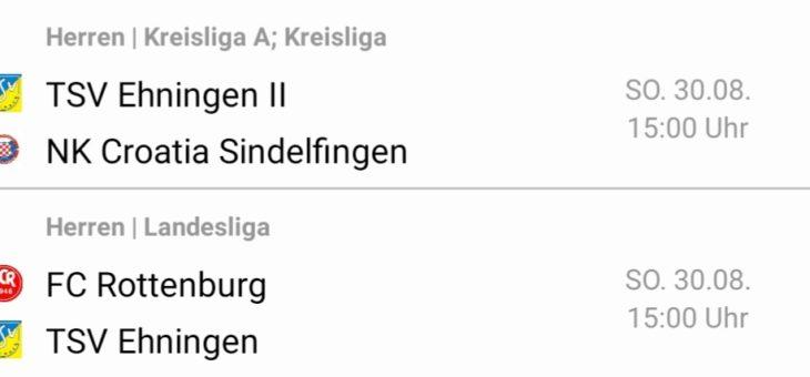 Auswärtsspiel in Rottenburg – Saisonauftakt für die Zweite